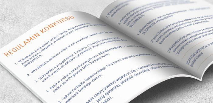 Regulamin XXIV Ogólnopolskich Prezentacji Muzycznych TEREPACZKÓW